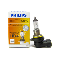 (1 PC) Philips HB4 / 9006 +30% Premium Vision OEM Replacement Light Bulb