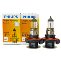 (PAIR) Philips H13/9008 OEM Replacement Light Bulb