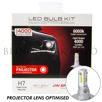 JW Speaker H7 6000K PROJECTOR LENS Model 4000 EVOLUTION LED Conversion Kit