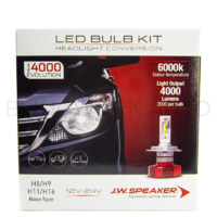 JW Speaker H8 H9 H11 H16 6000K Model 4000 EVOLUTION LED Conversion Kit