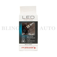 JW Speaker LED PSX24W PS24W PS19W 6000K White Fog Light Bulb
