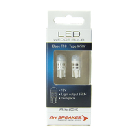 JW Speaker LED T10 W5W 6000K White Bulb
