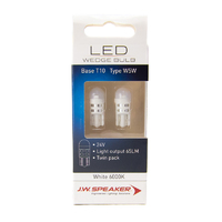 JW Speaker LED 24V T10 W5W 6000K White Bulb