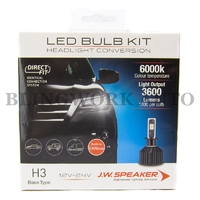 JW Speaker H3 6000K DIRECT FIT LED Conversion Kit
