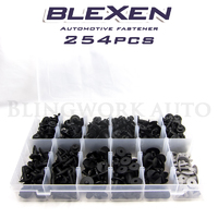 254PCS BLEXEN Plastic Panel Clip Retainer Fastener Kit