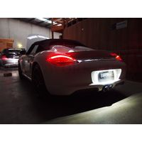 Porsche Boxster Cayman LED Registration Light