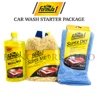 FORMULA 1 AUTO CARE Carnauba Car Wash & Wax Kit