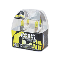 KONIK H1 Premium Gold 2500K Yellow Halogen Bulbs