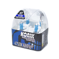 KONIK H7 Flash White 4750K White Halogen Bulbs