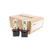 KONIK PSX26W LED Fog Light 6000K White Light Bulbs