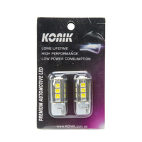 KONIK W21W T20 7440 CANbus LED Reverse Light Bulbs