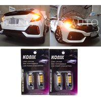 KONIK WY21W T20 AMBER LED Indicator for MY16+ Honda Civic FC FK