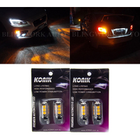 KONIK WY21W T20 AMBER LED Indicator for MY15+ Subaru WRX STI