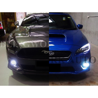 KONIK H8 LED Fog Light for MY15-17 Subaru WRX STI/Ford Mustang