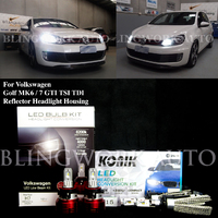 Volkswagen Golf MK6 MK7 LED H7 H15 DRL Low High Beam Package