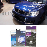 Philips H7 X-treme Ultinon LED Low Beam Headlight Kit for Holden VF Commodore