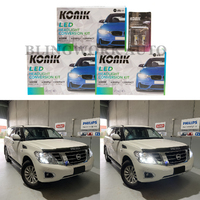 Nissan Patrol Y62 S3 S4 LED H11 H9 H11 T10 Headlight Fog Light Parker Upgrade Kit