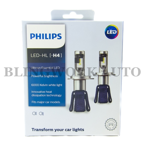 Philips H4 Ultinon Essential LED 6000K Conversion Kit