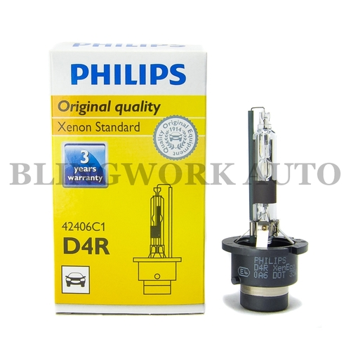 (1 PC) Philips D4R Xenon OEM Factory Colour Bulb