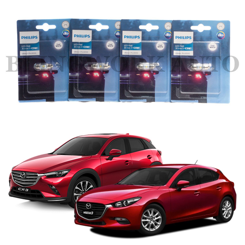 KONIK 2013-2019 Mazda 3 CX-3 LED Interior Light Package