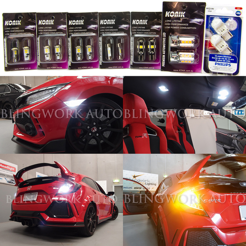 Honda Civic Type R FK8 LED Light Upgrade Package